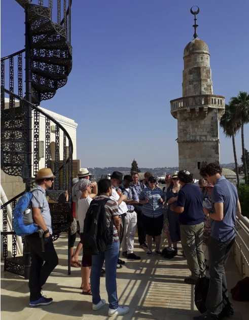 An excursion to Jerusalem - the One Language  Participants